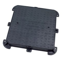 Ductile Iron Manhole Cover - 12.5 Tonne x 600mm x 600mm