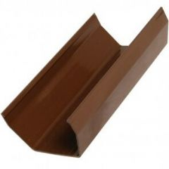Square Gutter - 114mm x 4mtr Brown