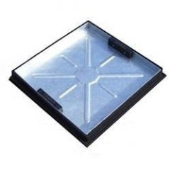 Manhole Cover Recessed - 5 Tonne x 375mm x 375mm x 46mm for 300mm Circular Chambers