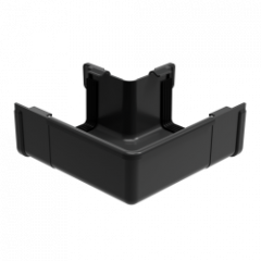 Square Gutter Large External Angle - 90 Degree x 135mm Anthracite Grey