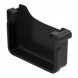 Square Gutter Large Right Hand Stopend - 135mm Anthracite Grey