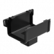 Square Gutter Large Running Outlet - 135mm Anthracite Grey