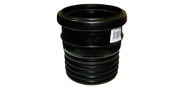Can I Connect A PVC Soil Pipe To A Cast Iron Stack?