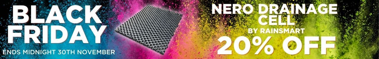 Nero Drainage Cell Black Friday Banner