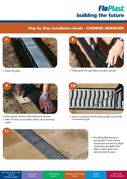 Channel Drainage Installation - Page 2