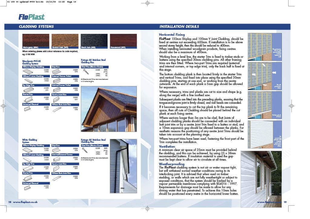 Floplast Cladding System Installation - Page 1